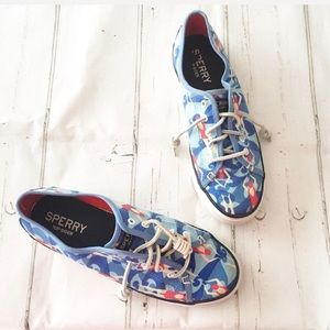 Sperry Top Sider Sea Coast Swimmer Tennis Shoes
